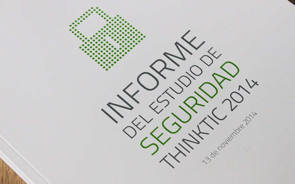 Informe del estudio de seguridad ThinkTIC 2014 portada