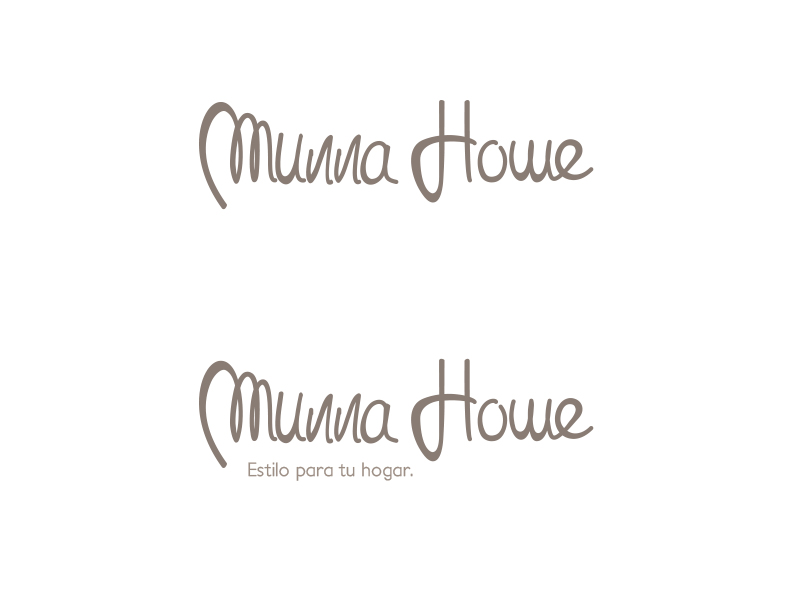 Munna Home lettering02